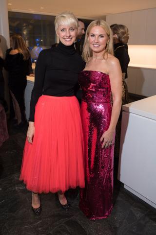 Catherine MacMahon and Lisa Runyon