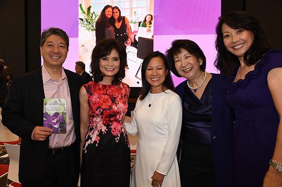 David Nishida, Tina Nishida, Thear Suzuki, Tracey Doi, and Pam Okada