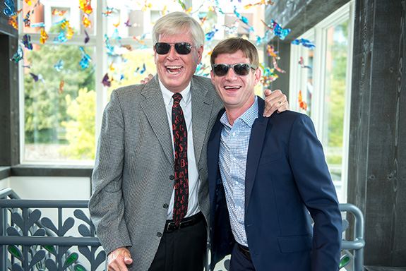 Doug Smellage (RMHD Chair Emeritus) and Bert Crouch (RMHD Chair