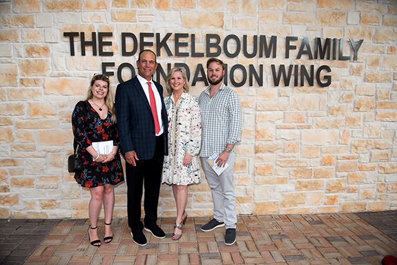 Alison Glenni, Drew Dossett, Natalie Dossett, and Ingram