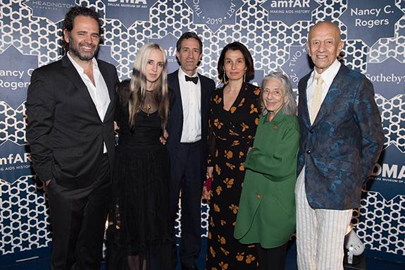 Gavin Brown, Hope Atherton, Vincent and Vivian Katz, and Ada and Alex Katz
