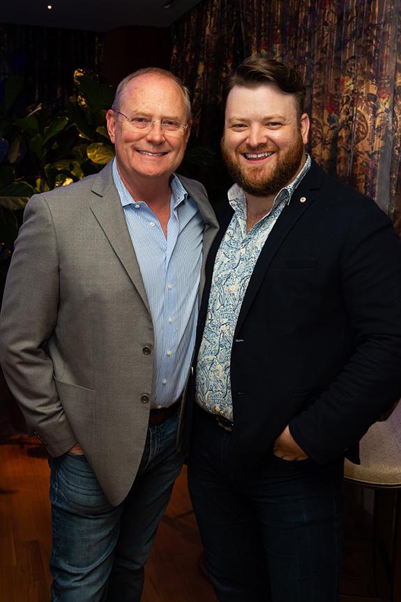 Greg Haynes Johnson and Zach Hess