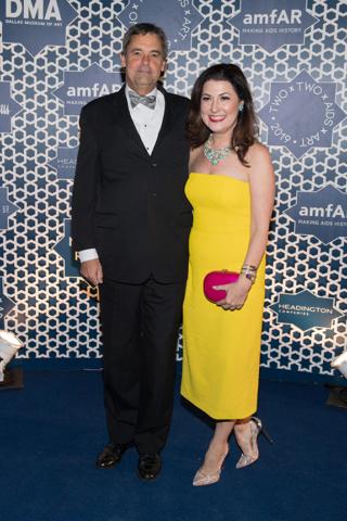 Hugh Washburne and Capera Ryan