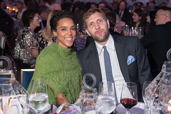 Jessica and Dirk Nowitzki