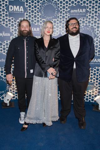 Joe and Kristen Cole with Adam Abdalla