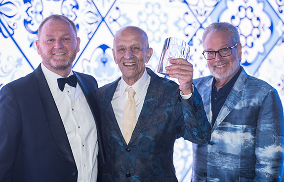 Kevin Frost, Alex Katz, and Howard Rachofsky