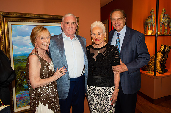 Laree Hulshoff and Ben Fischer with Barbara and Don Daseke