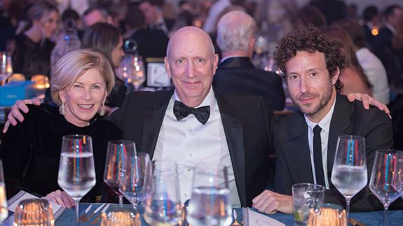 Marguerite Hoffman, John Van Doren, and Aram Moshayedi
