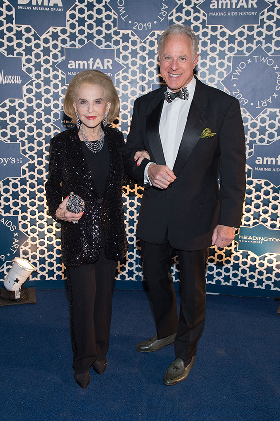 Nancy Dedman and Brad Kelly