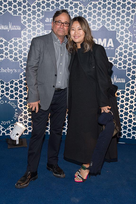 Ross Bleckner and Jane Park