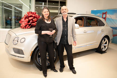 Cindy Hartman and Larry Elliott