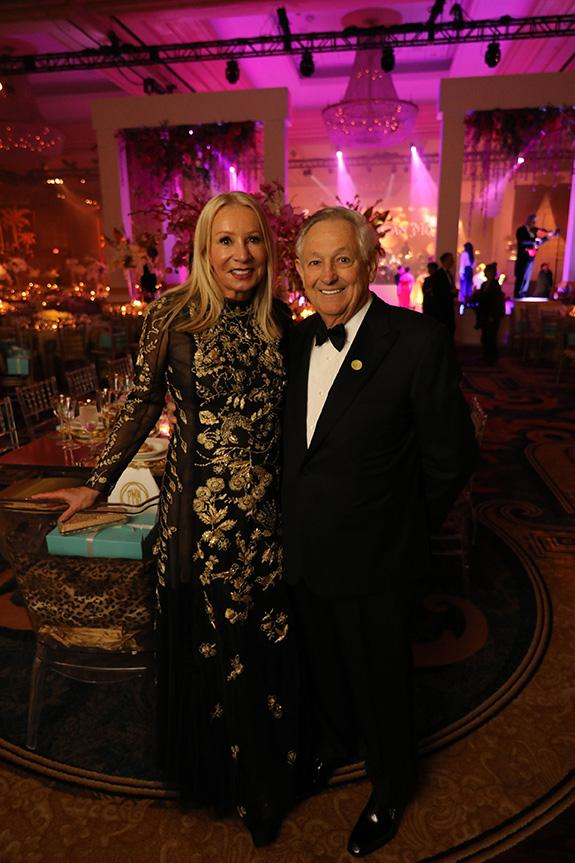 Ball Chairman Pat McEvoy and her husband Charles McEvoy