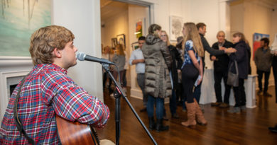 Young Artists Exhibit Works at Blue Print Gallery
