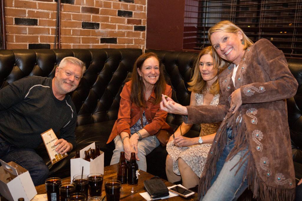 """Team """"Six and an Egg Roll"""" Steve Davis, Cindy Davis, Janice Howry, and Karen Owen"""
