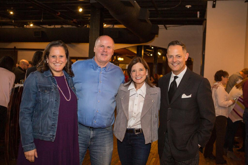 Co-Chair Macey Davis, Jack Matthews of Matthews Southwest, Tori Mannes, and Rafael Anchia