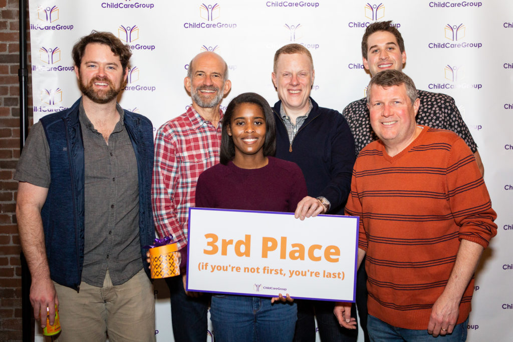 "3rd Place, Thompson & Knight Team ""Quiz Pro Quo"" John Cohn, Aaron Powell, Andrew Mearsheimer, Sydney Collier, and TJ Rauner"