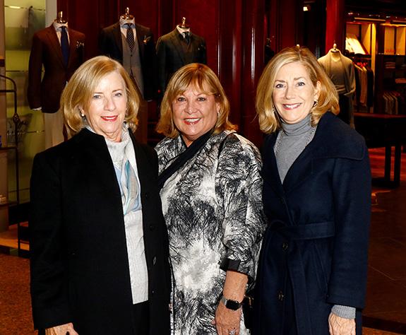 Carol McEvoy, Margaret Hunt, and Debbie Taylor
