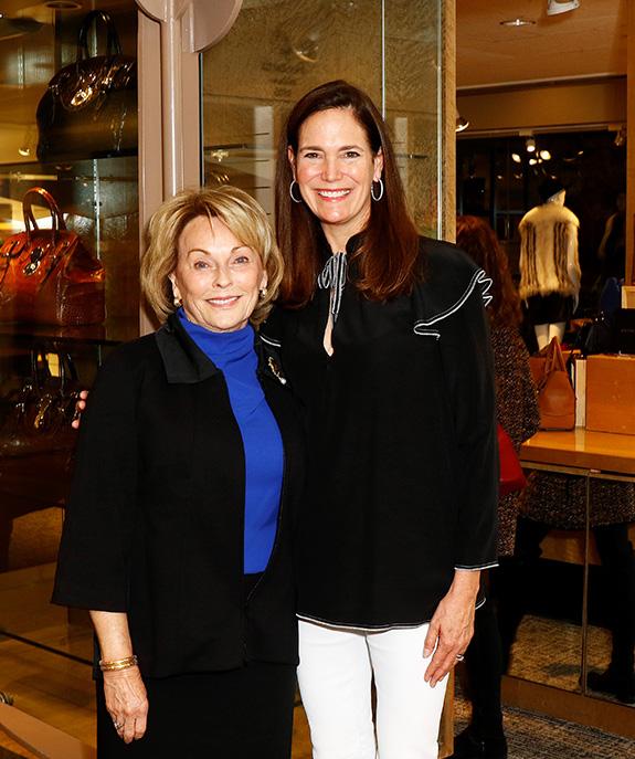 Ellen McStay and Margaret Hancock