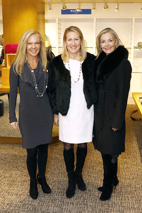 Kelly Perkins, Lisa Singleton, and Katherine Coker