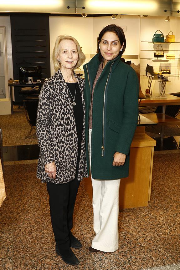Jo Anne McCullough and Elizabeth Saab