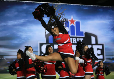 Hillcrest Squad Cheers at UIL Competition