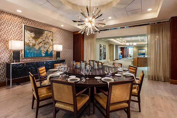 Private dining room on 4th floor