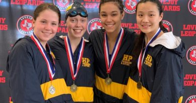 Blue Wave Sends Swimmers to Regionals