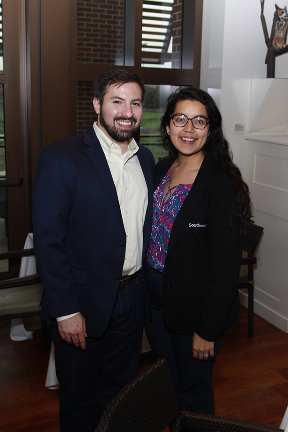 Matthew Price and Sabrina Rangel