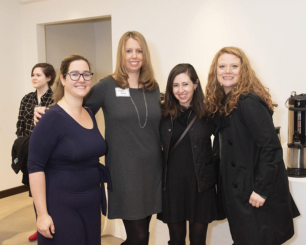 Ashton Keller, Angela Walker, Laura Gazette, and Katy Ratley