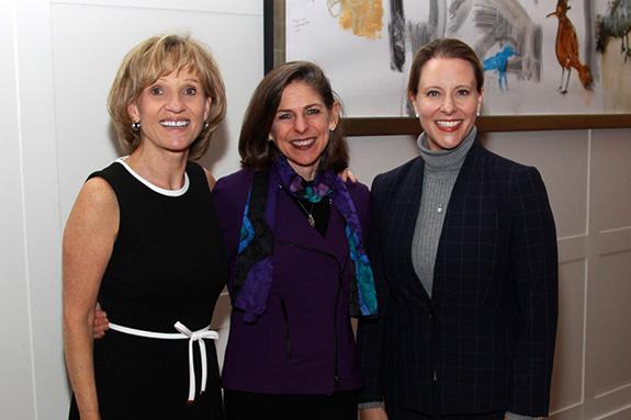 Pam Johnson, Diane Paddison, and Lori McMahon