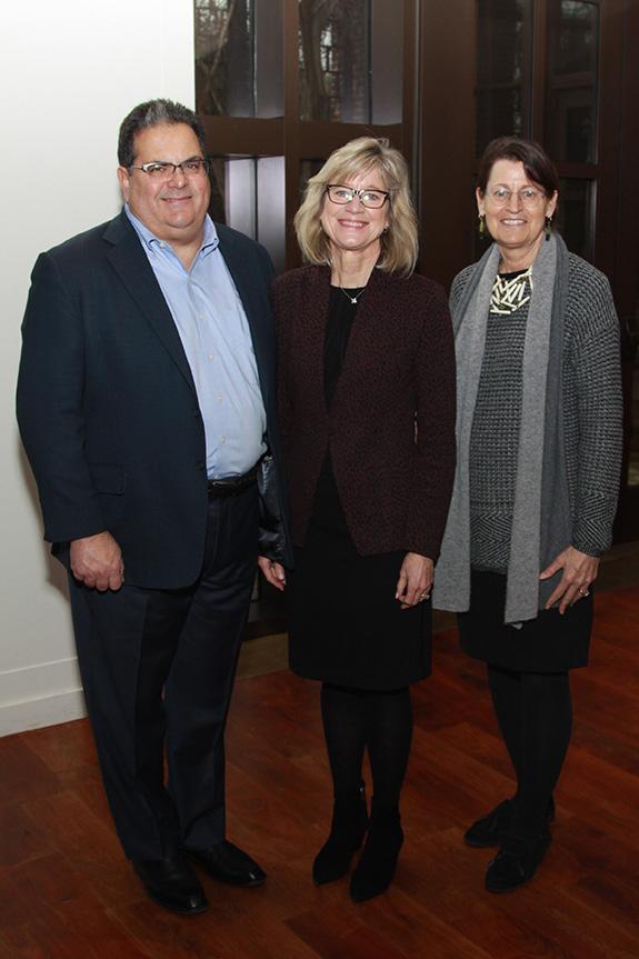 Mark and Jody Macedonio with Carol Roehrig