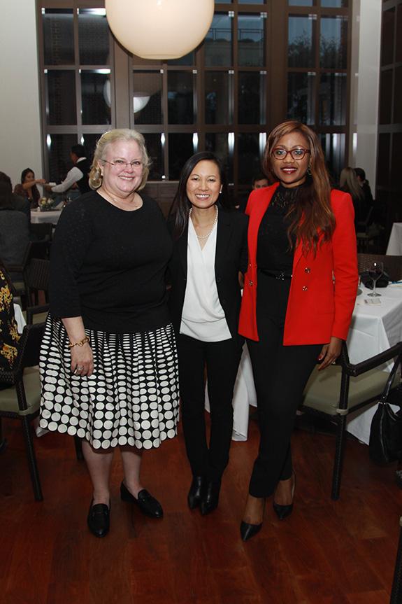 Jill Perrin, Thear Suzuki, and Cynthia Nwaubani