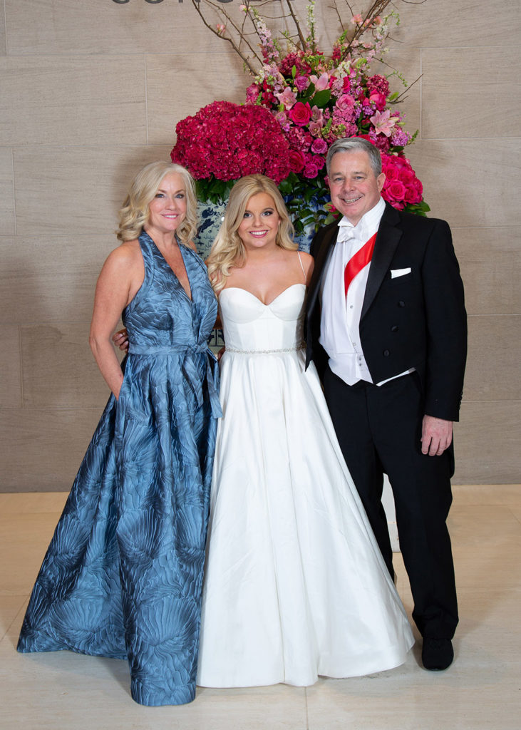 Karen, Isabella, and Kevin Cox