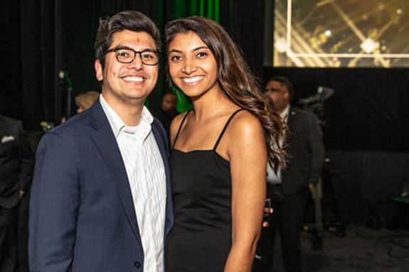 Kenji Jameel and Komal Moudgil
