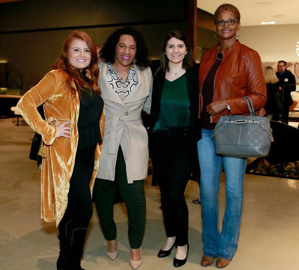 Ashley Rivera, Monica Wilcox, Kara Kelley, and Lakecia Booker