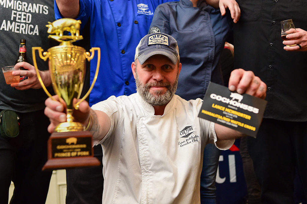Chef Winner Lance McWhorter