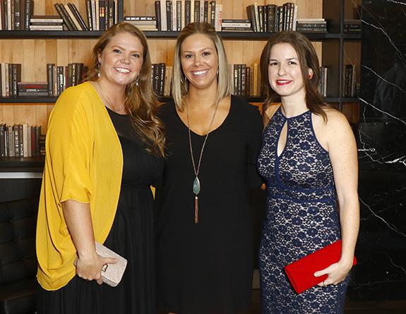Stephanie Zorn, Hillary Cox, and Anna Harris