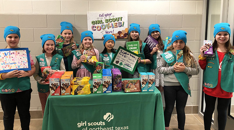 Cookie Peddlers Put Purposes to Proceeds