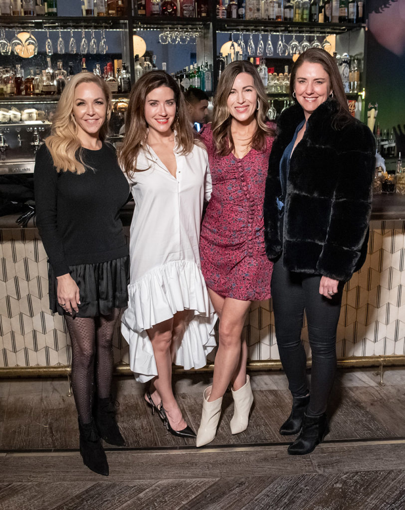 Jen O'Neal, Amanda Nobles, Lauren Dun, and Blair Heartfield