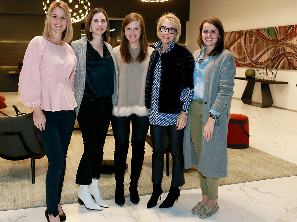 Nicole Cullum Horn, Haley Powell, Holly Huff, Leslie Jenkins, and Sarah Singer