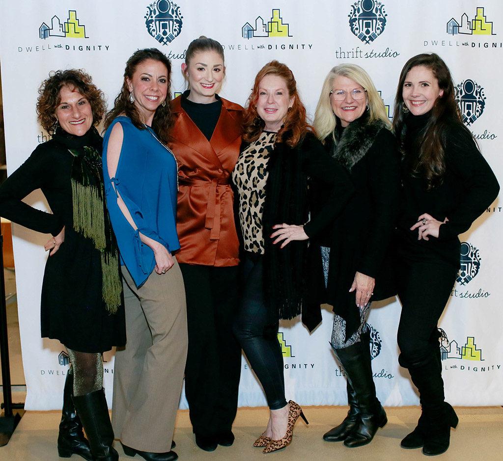 Sharon Wolpert, Brooke Crow, Natalie Brauer, Theresa Hare, Kristi Hopper, and Kitty Stuart