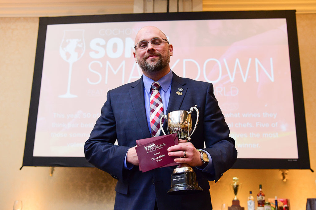 Somm Smackdown Winner Daniel Miller