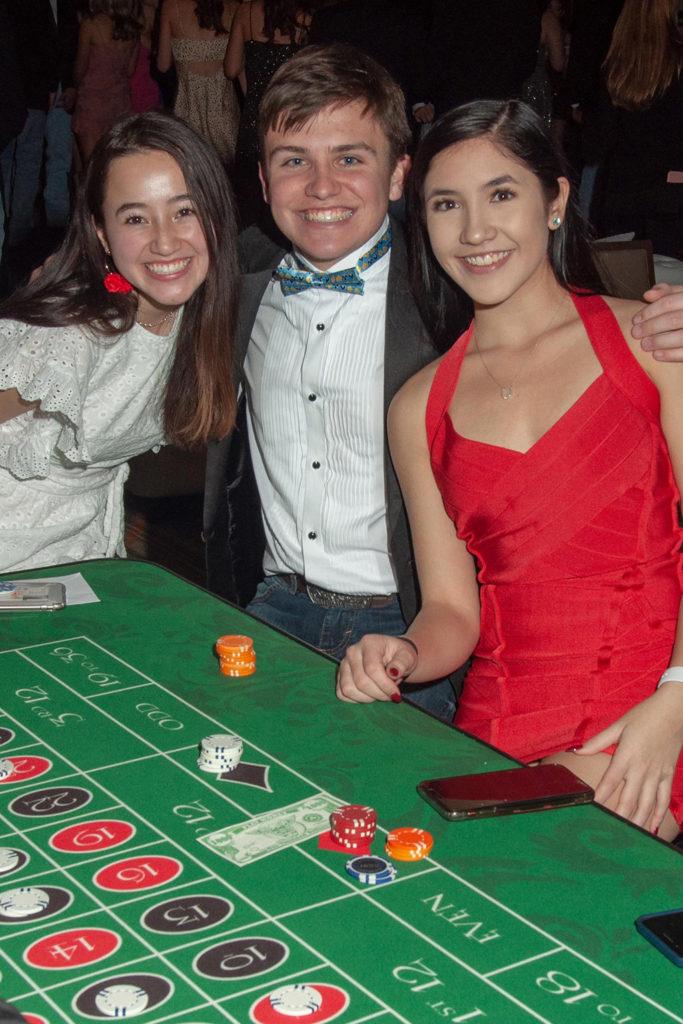 Elizabeth Lewis, Olin Rolseth, and Olivia Luk