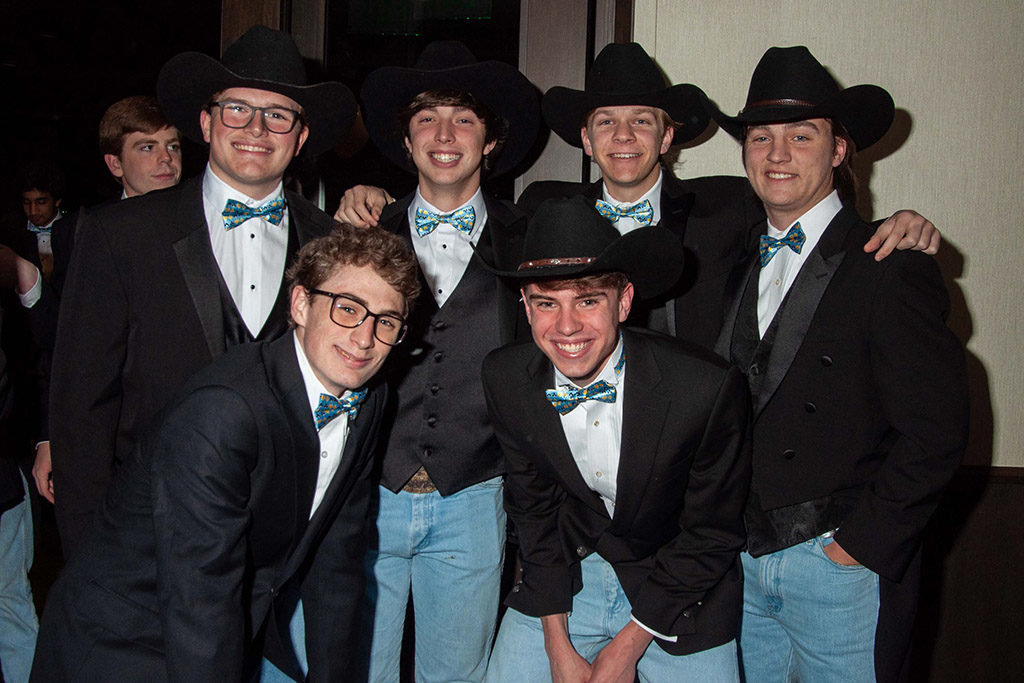 <strong>Back Row:</strong> Jack Cunningham, Beck Kibler, Braden Roever and Jack Tanner. <strong>Front Row:</strong> Justin Crump and Harris Hurley