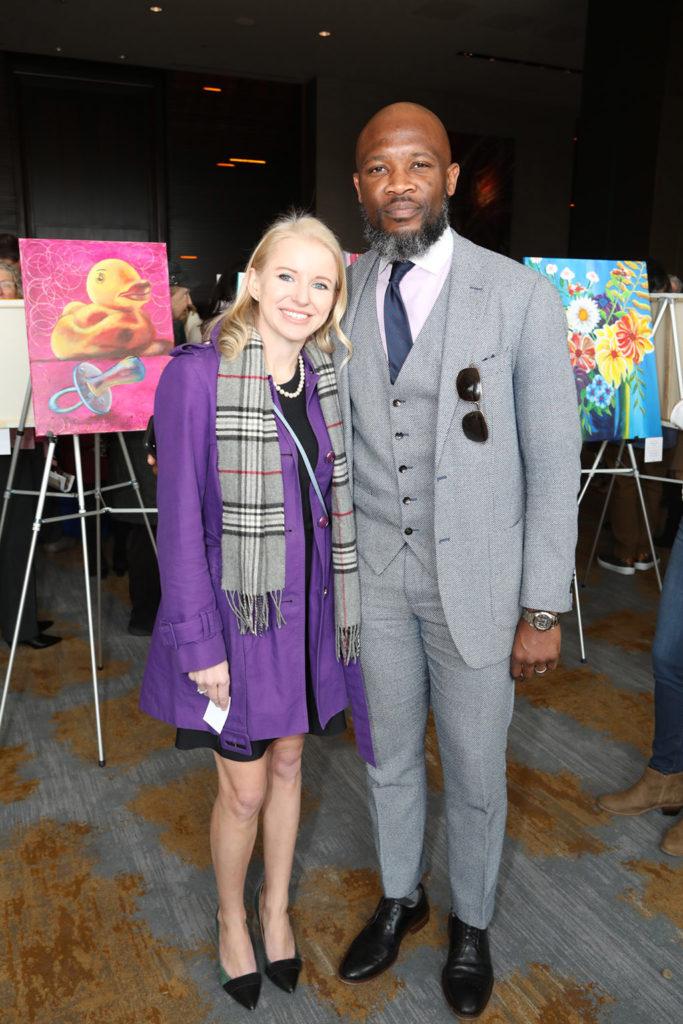Amy Jenkins and Bertrand Maimo