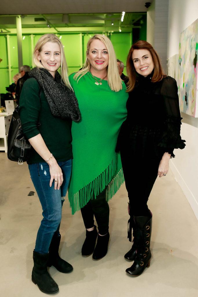 Ana Sadeh, Ginger Walker, and Lisa Robison