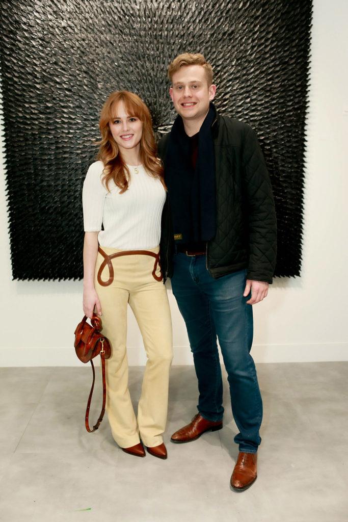 Anna Jordan and Huntley Lewis