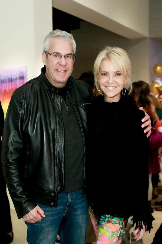 Bob Kraut and Leslie Merrill
