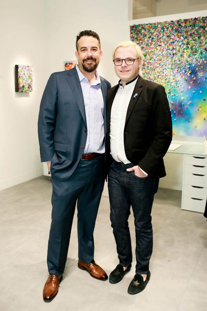 Brent Ellis and Chris Huffman