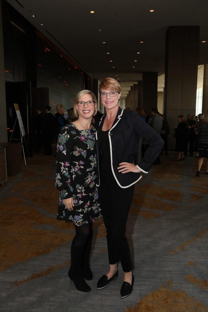 Courtney Luscher and Brenda Hedrick